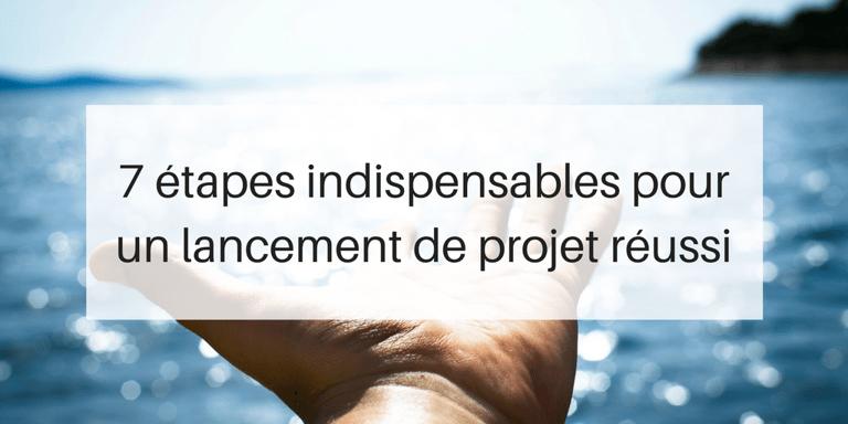7 tapes indispensables pour un lancement de projet r ussi for Combien de temps pour obtenir un permis de construire